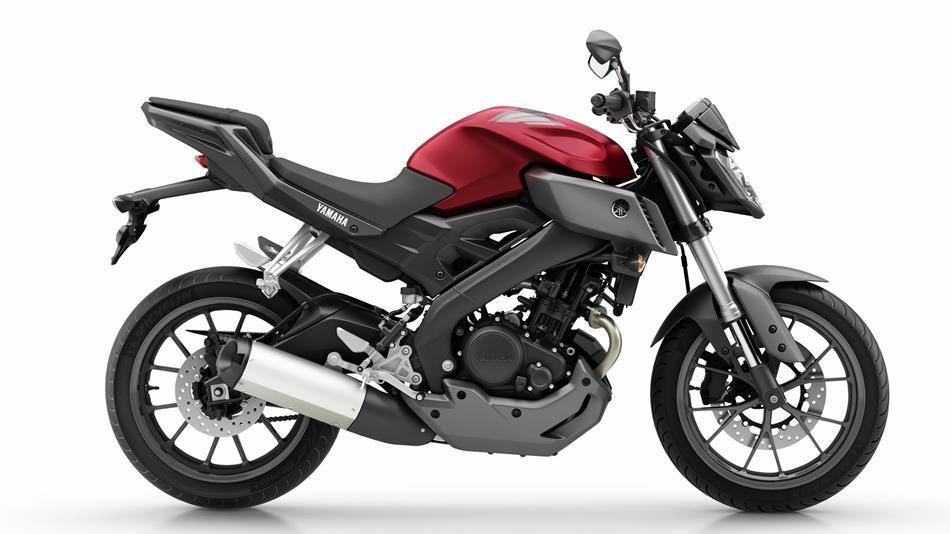 Yamaha-MT125-vermelha