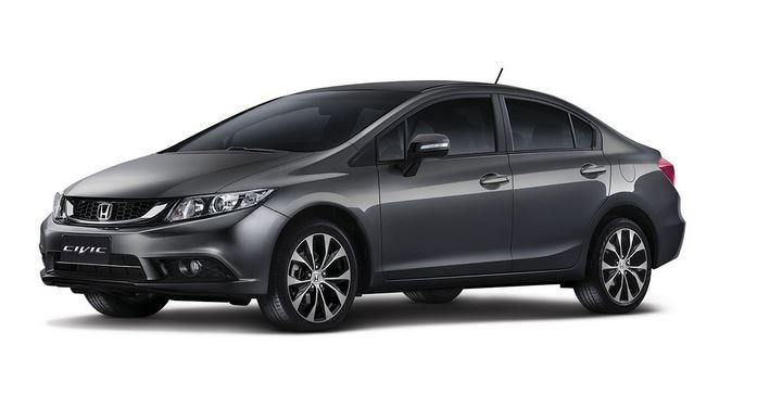 Novo Honda Civic 2015 Pre 231 O Consumo Desempenho Fotos