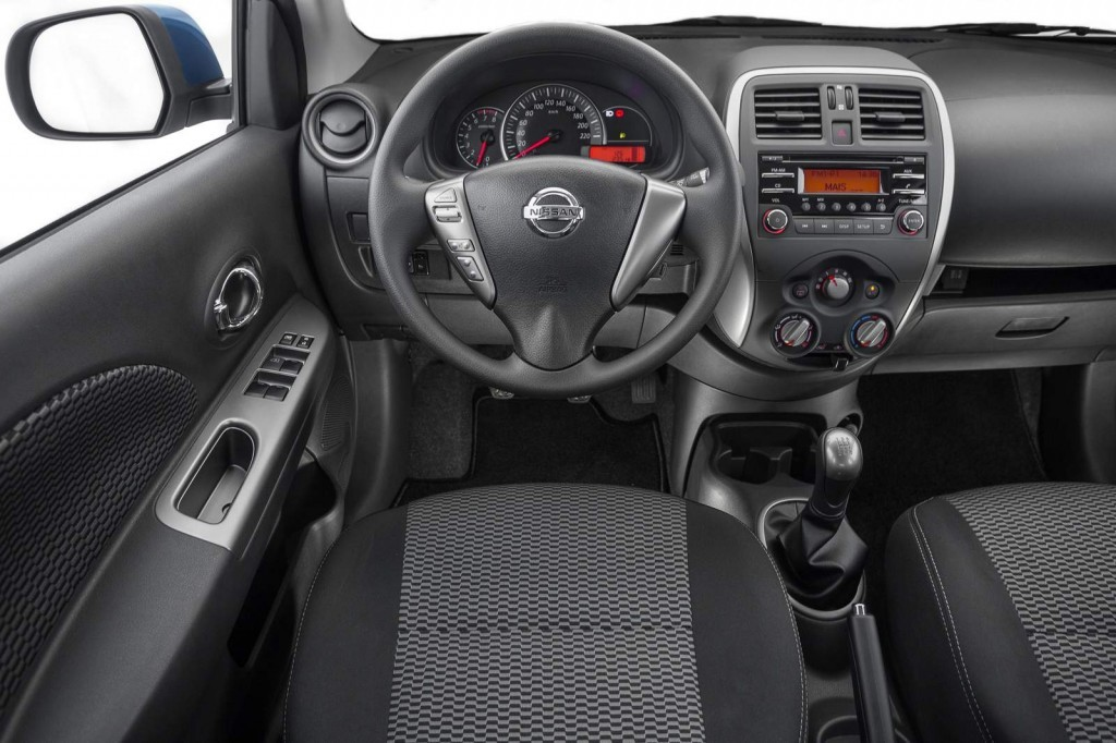 Nissan New Match produzido no Brasil.
