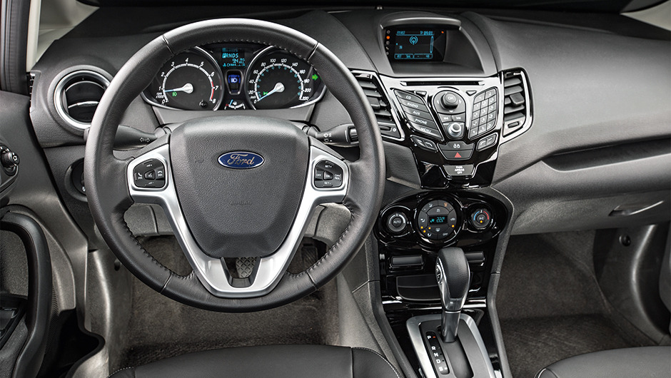 New Fiesta 2015 sedan interior