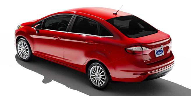 New Fiesta 2015 sedan