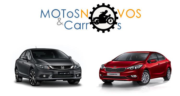 Cerato ou Honda Civic