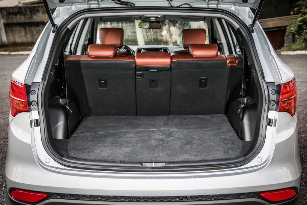 IX35 2015 - porta malas