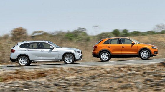 Audi Q3 ou BMW X1