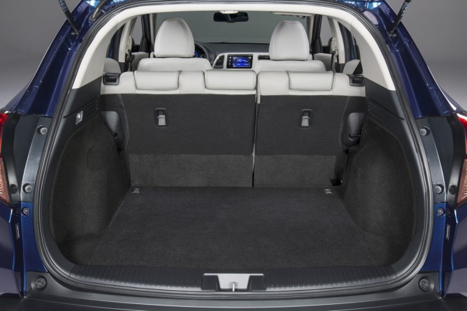 Novo Honda HRV 2016 - porta malas