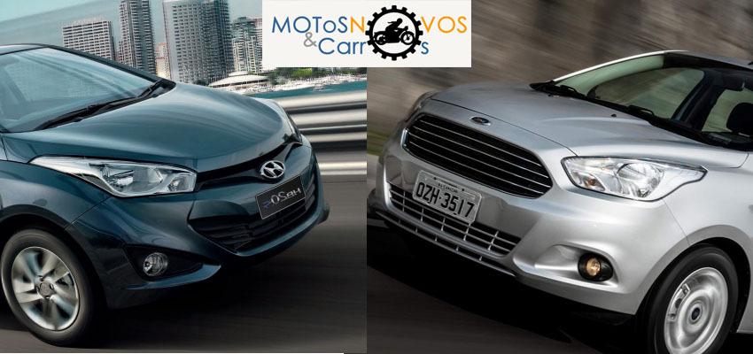 Ka+ sedan ou HB20s sedan