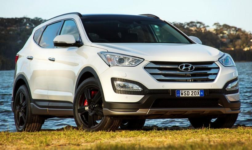 Nova Hyundai Santa Fe 2015 2016