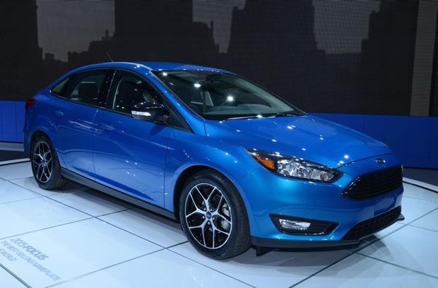 Novo Focus sedan 2015 2016