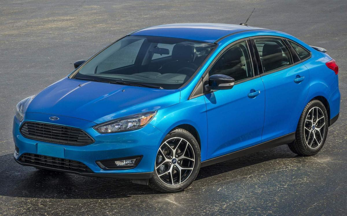 Ford Focus Sedan 2015 2016