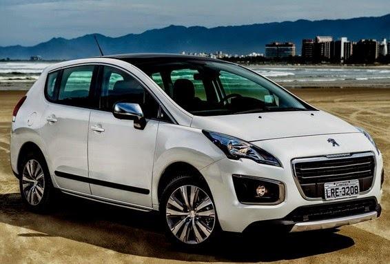 Novo Peugeot 3008 - teto solar