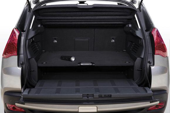 Novo Peugeot 3008 porta malas