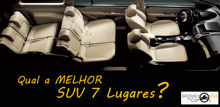 Qual a Melhor SUV 7 Lugares