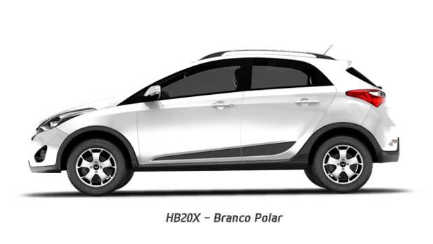 Novo HB20x 2015 2016