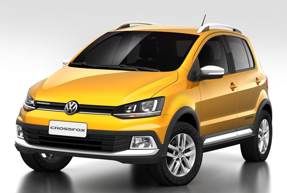 Novo Volkswagen Crossfox 2016