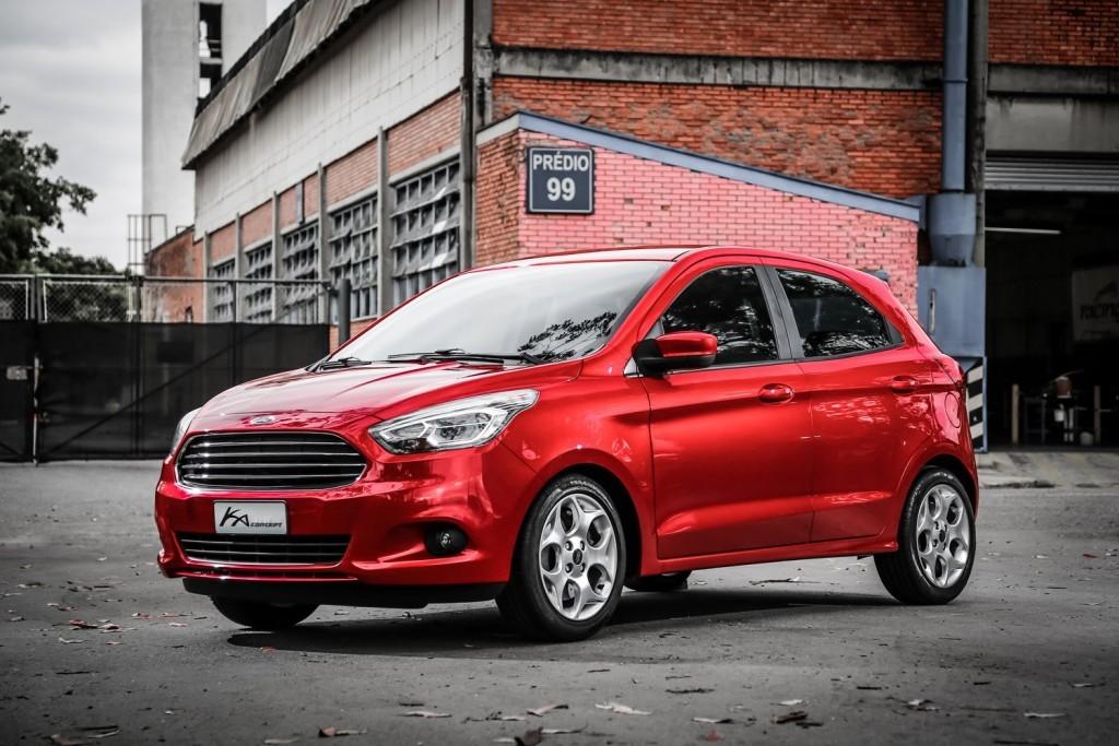 Novo Ford Ka 2016 consumo