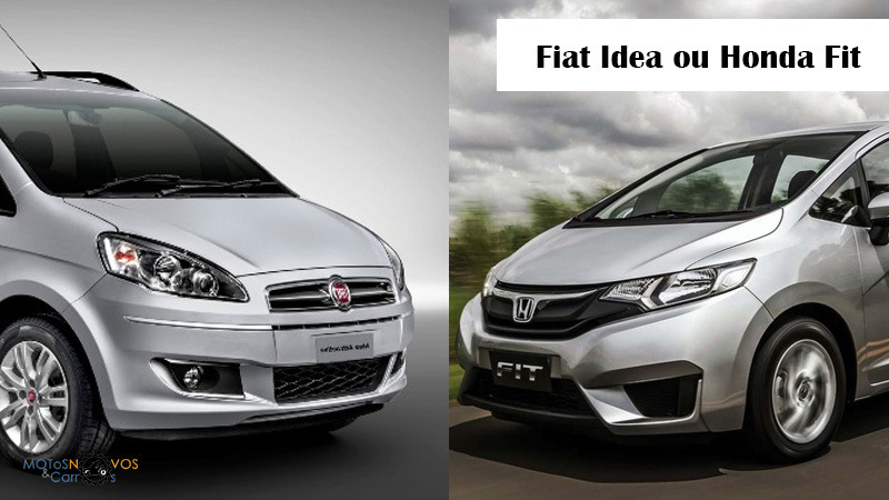 Fiat Idea ou Honda Fit