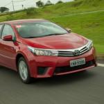 Novo Corolla 2016 vermelho