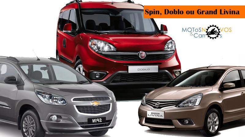 Spin, Doblo ou Grand Livina