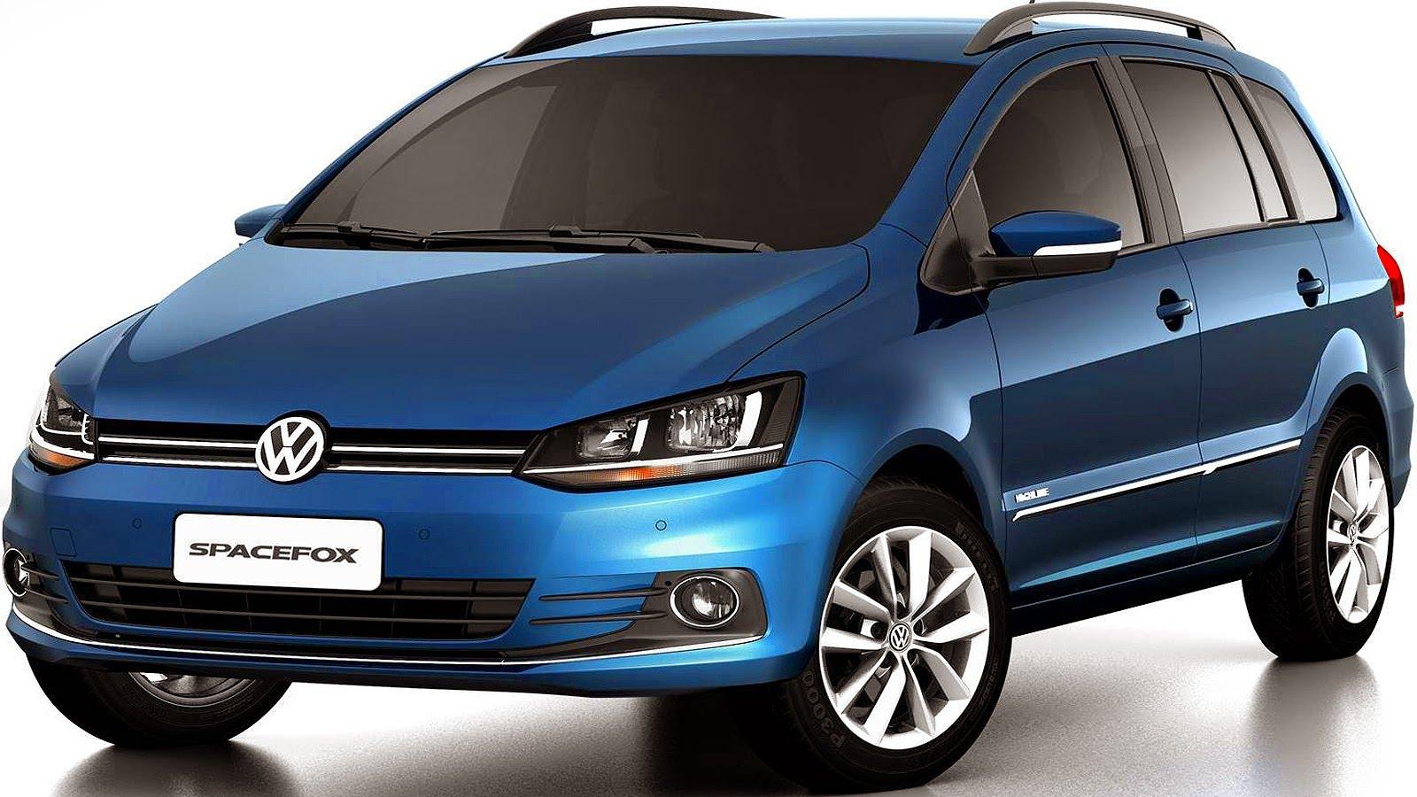 Novo Volkswagen Spacefox 2016