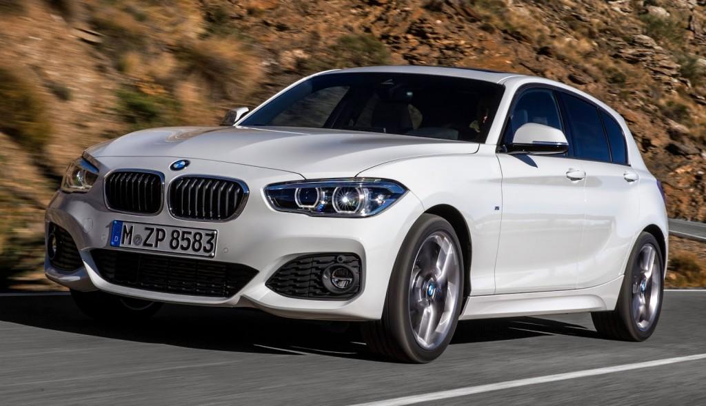 Nova BMW série 1 2016