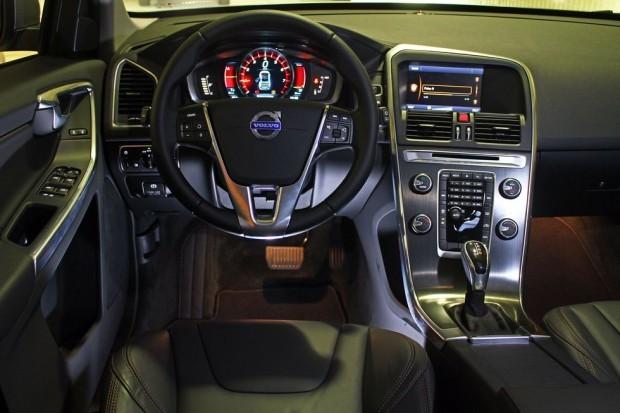 Novo XC60 2016 - interior