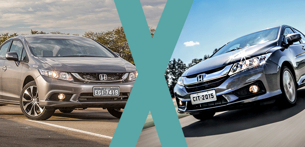 Honda City ou Honda Civic