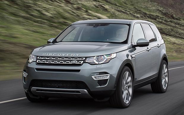 Nova Land Rover Discovery Sport 2016
