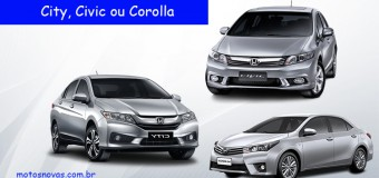 Honda City ou Civic ou Corolla