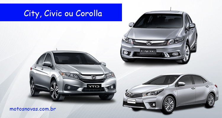 Honda City ou Civic ou Corolla