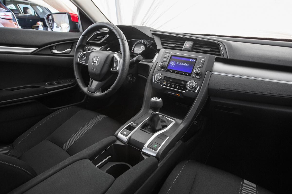 Novo Honda Civic 2017 Pre O Novidades Interior