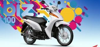 Nova Honda Biz 100 2017, Preços, Novidades, potência, consumo, fotos