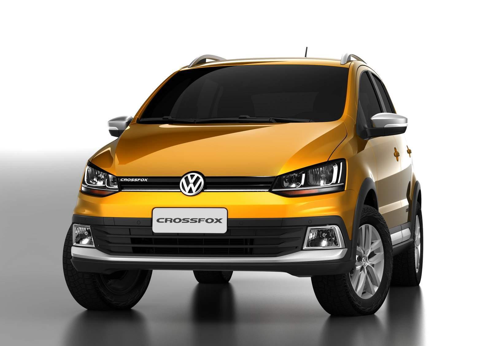 VW CrossFox 2017