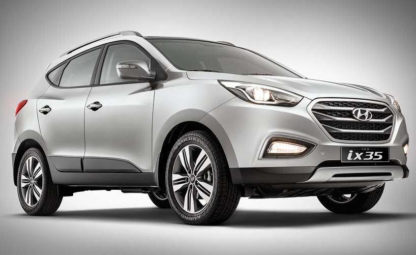 Nova Hyundai Ix35 2017