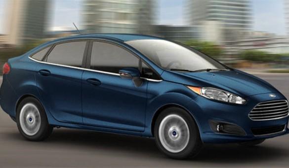 New Fiesta sedan 2017