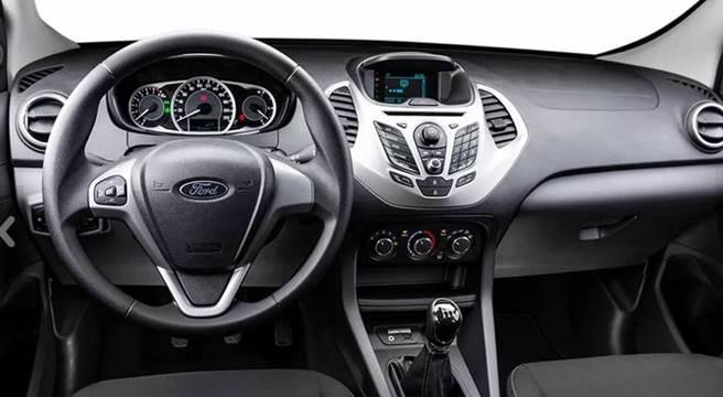 Novo Ford Ka 2017 Sedan