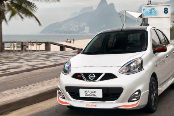 Novo Nissan March Rio 2016