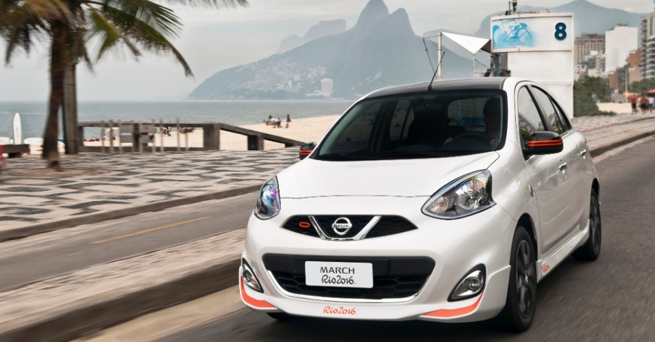Novo Nissan March Rio 2016