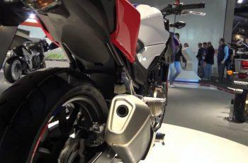 Nova Honda CB 500F 2017