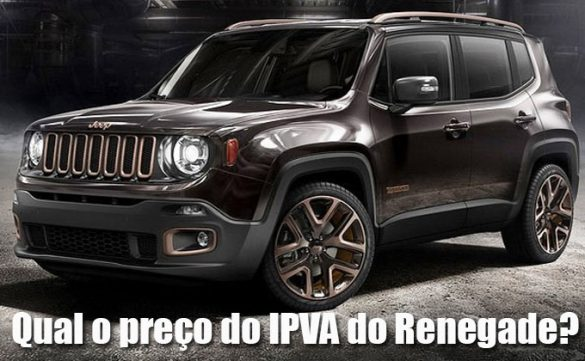 Preço do IPVA do Renegade