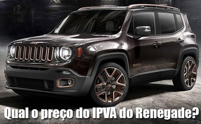 Veja Aqui Qual O Preco Do Ipva E Seguro Do Jeep Renegade
