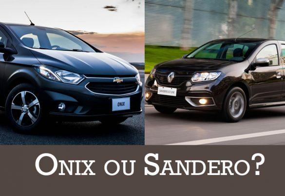 Onix ou Sandero