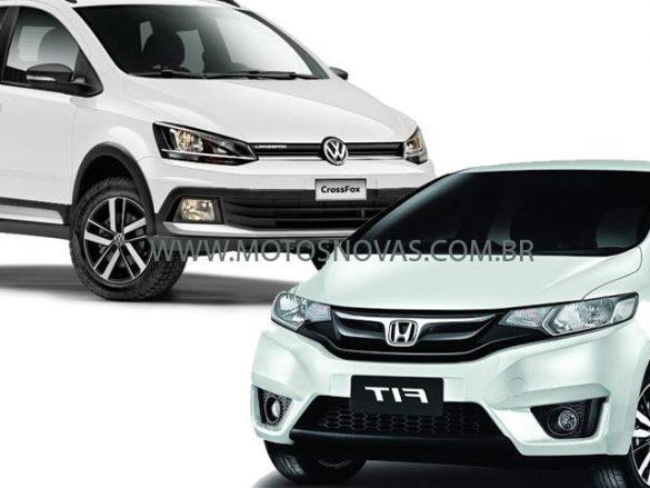 Crossfox ou Honda Fit