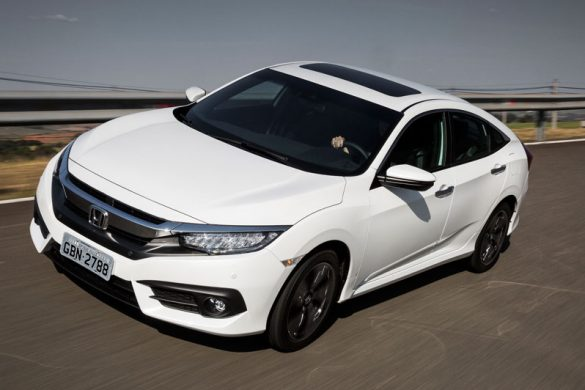 Novo Honda Civic Touring 2017 2018
