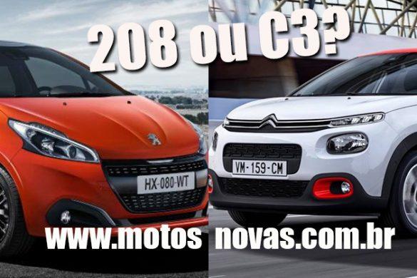 Citroen C3 ou Peugeot 208
