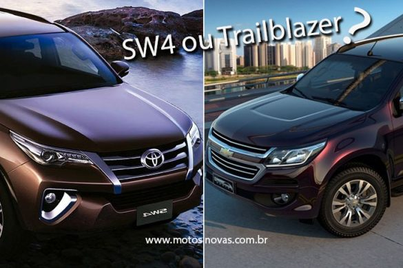 SW4 ou Trailblazer