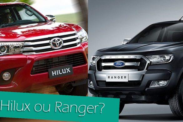 Hilux ou Ranger