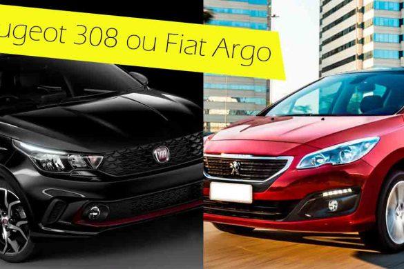 Peugeot 308 ou Fiat Argo