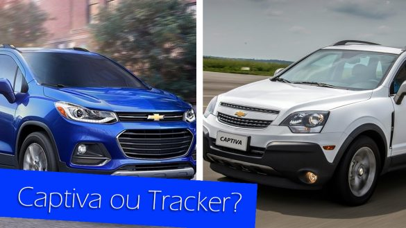 Captiva ou Tracker
