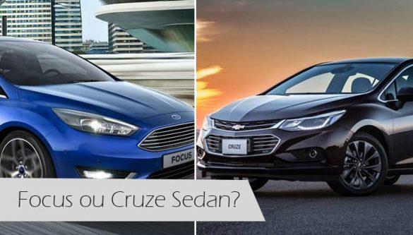 Focus Sedan ou Cruze Sedan