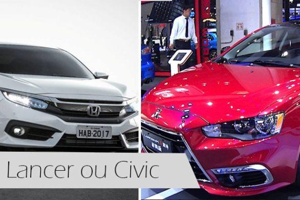 Lancer ou Civic